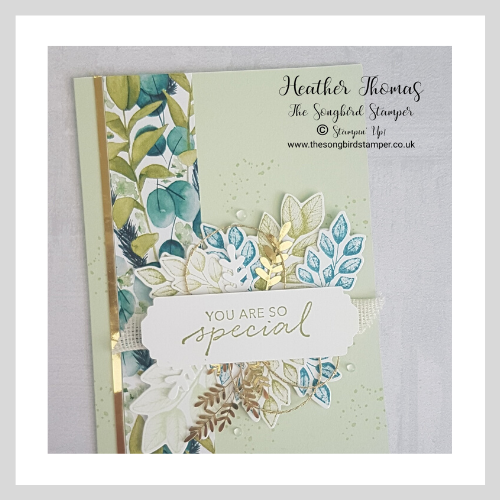 Handmade card using the Forever Greenery Suite by Stampin' Up!