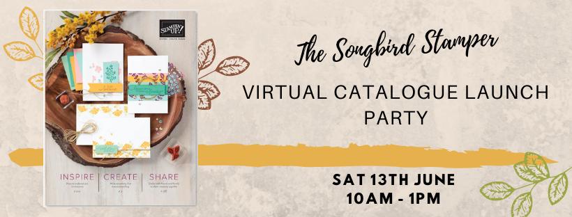 Virtual catalogue launch party