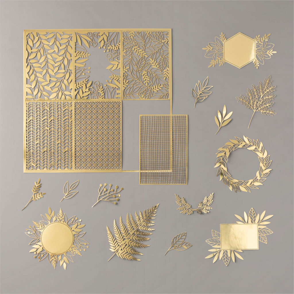 Forever Gold Laser-cut speciality paper