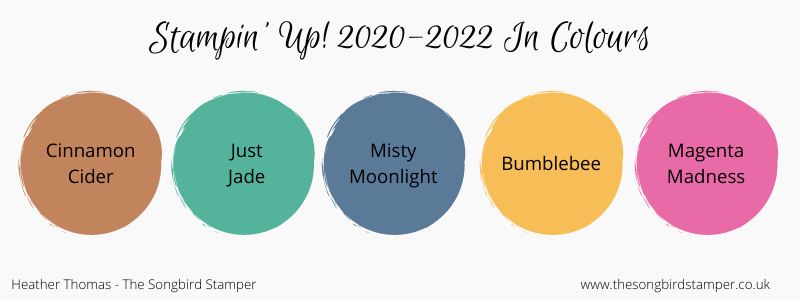 Stampin' Up! 2020 - 2022 In Colours