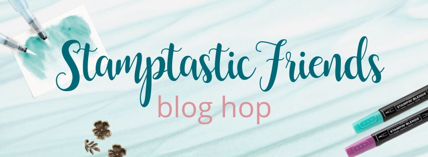 Stamptastic Friends Blog Hop Banner