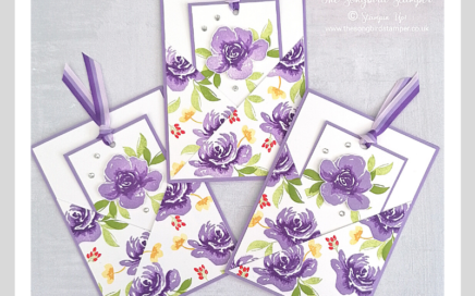 Handmade fancy fold cards using the All Things Fabulous stamp set from Stampin' Up!