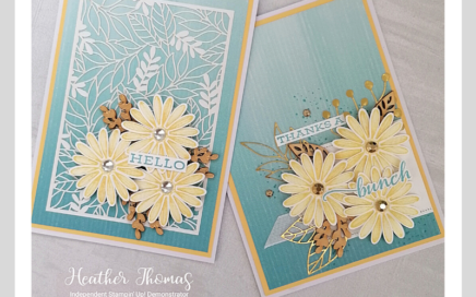 beautiful daisy thank you card