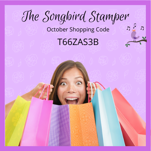 The Songbird Stamper Shopping Code