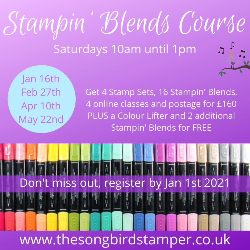 Stampin Blends Course Promotion