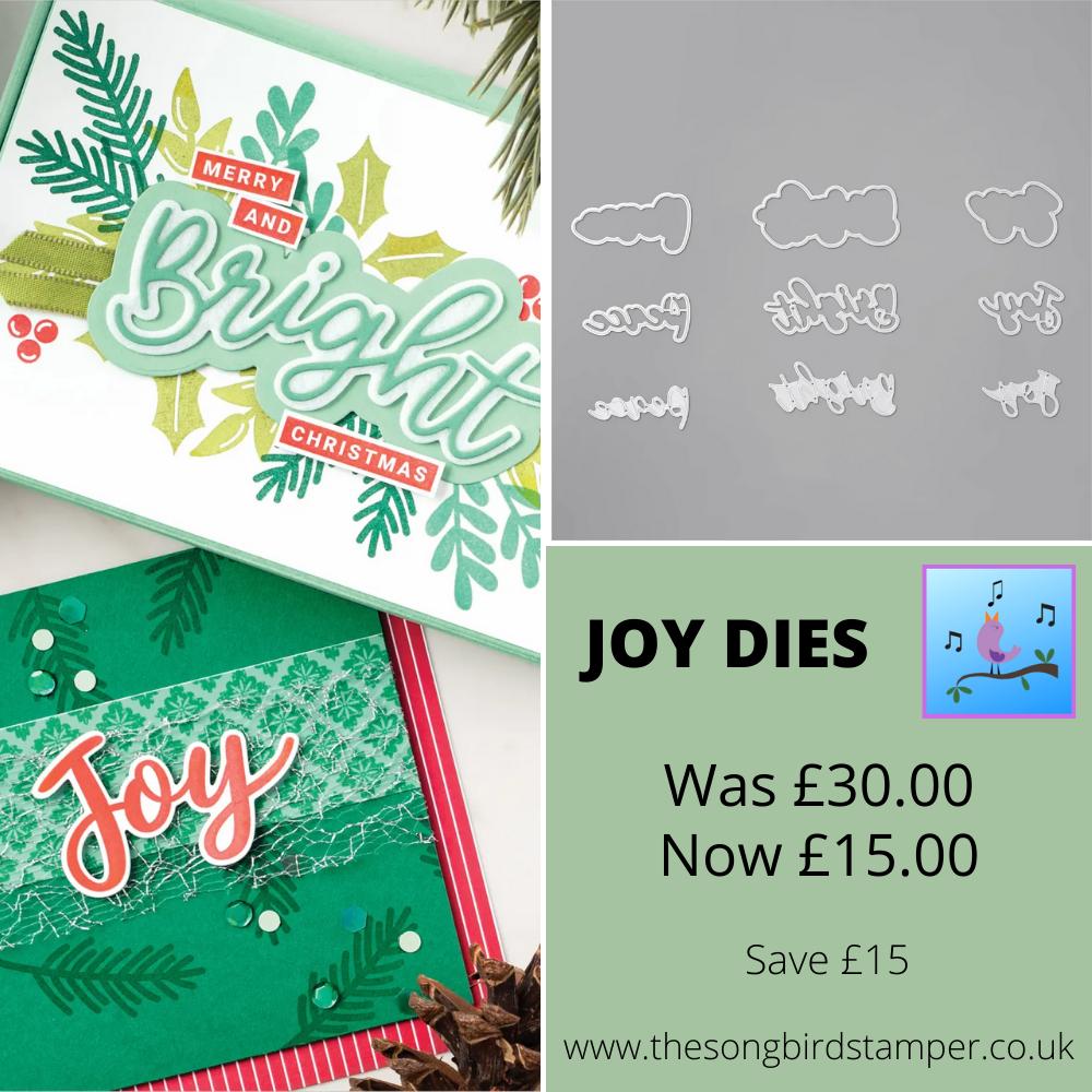 Joy Dies Sale details