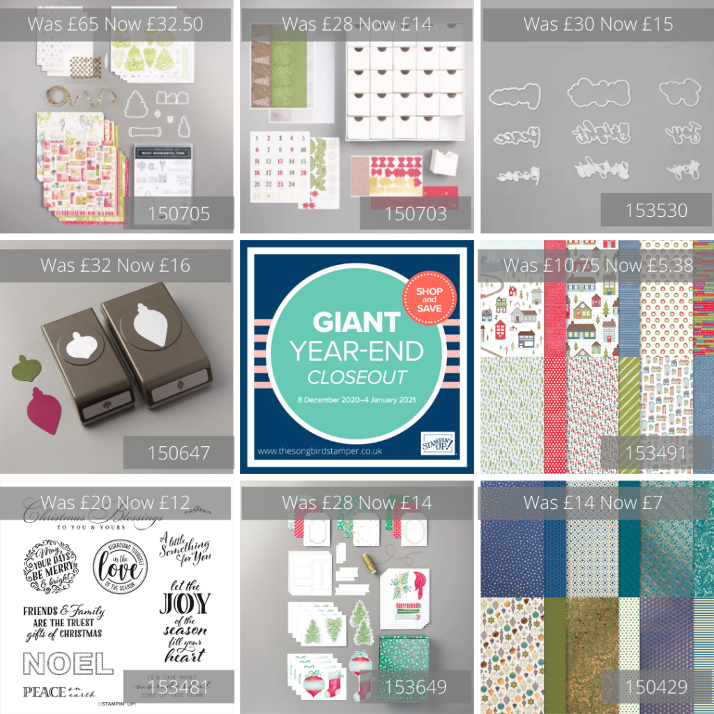 A Picture graphic of the Giant Year End Closeout Sale