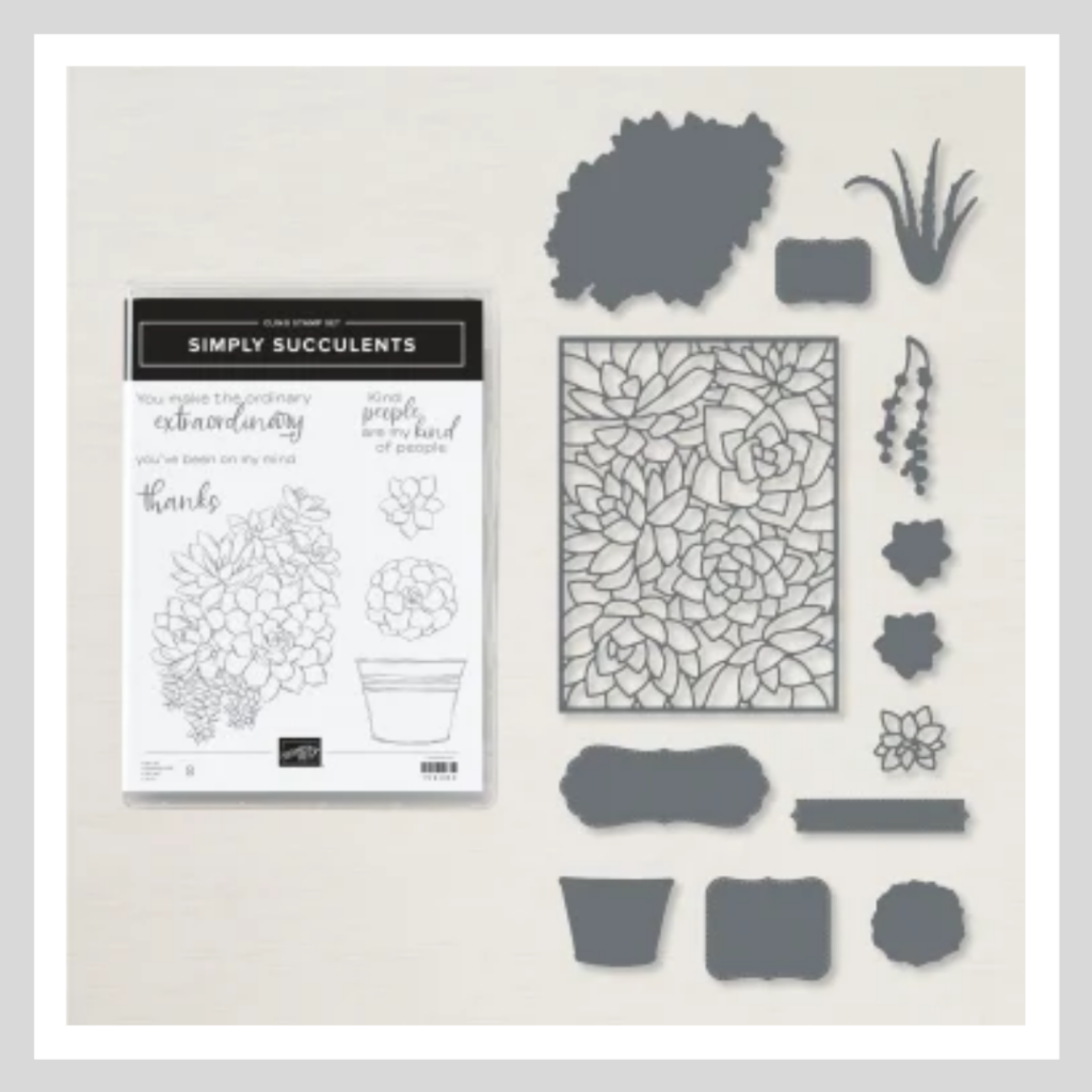 The Simply Succulents bundle from Stampin' Up!