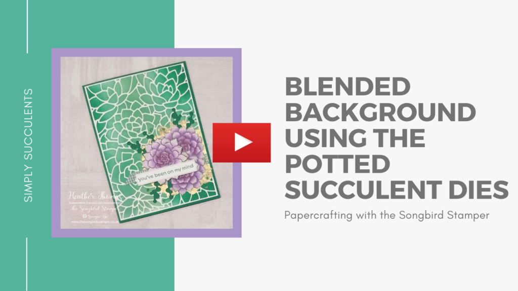 A video tutorial of my blended backgrounds technique for the New Year New TEnchnique blog hop by the Casual Crafters