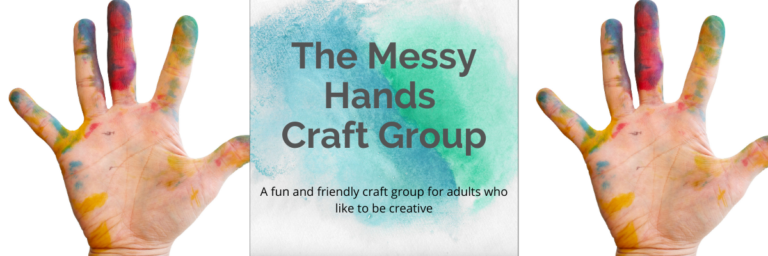 The Messy Hands Craft Group Graphic