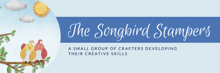 The Songbird Stampers craft group graphic