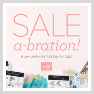 A picture of some of the free products available during Sale-A-Bration Jan - Feb 2021