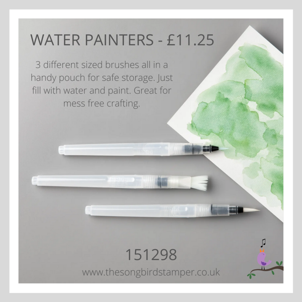 The water painters that I used in my how to create watercolour backgrounds tutorial