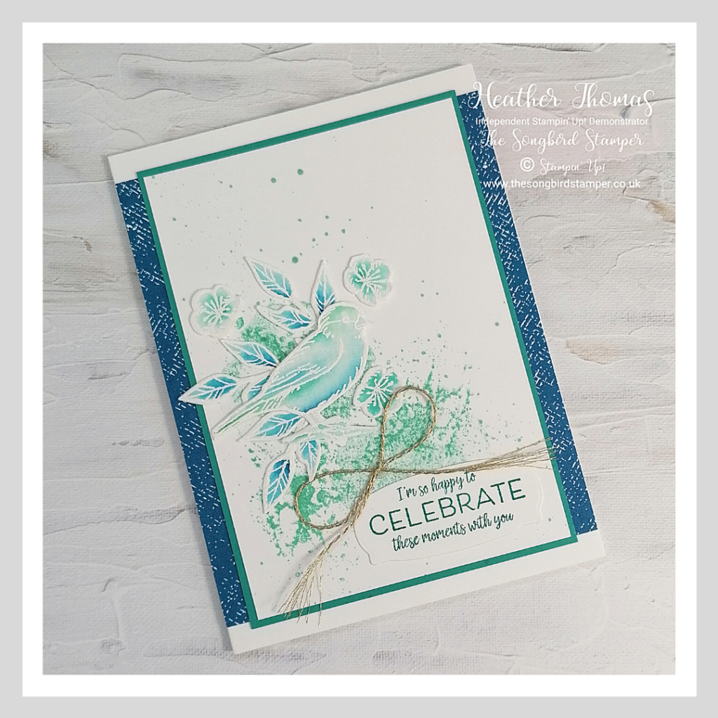 a handmade card showing how to make a greetings card for a special occasion