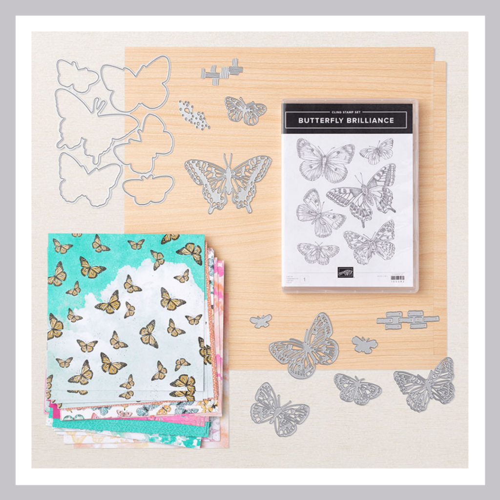 All the products in the Butterfly Bouquet Collection from Stampin' Up!