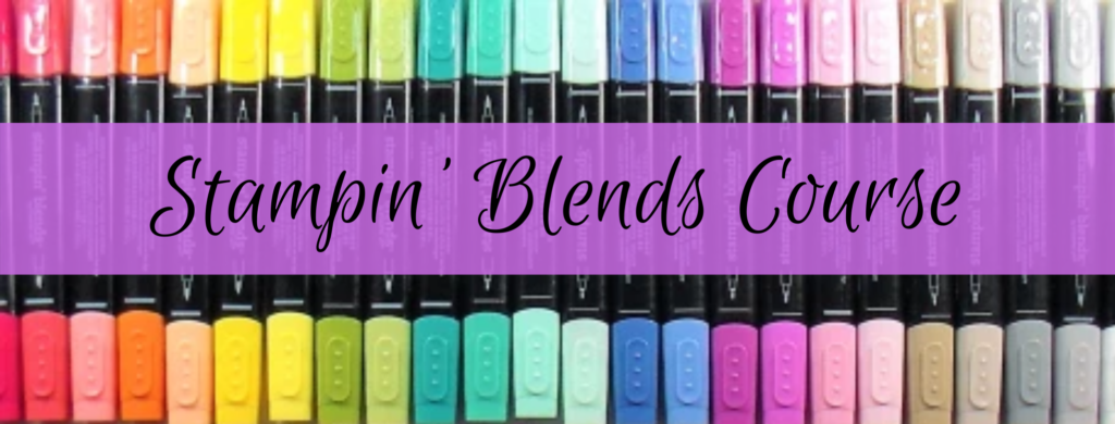Stampin' Blends Alcohol Marker Course graphic