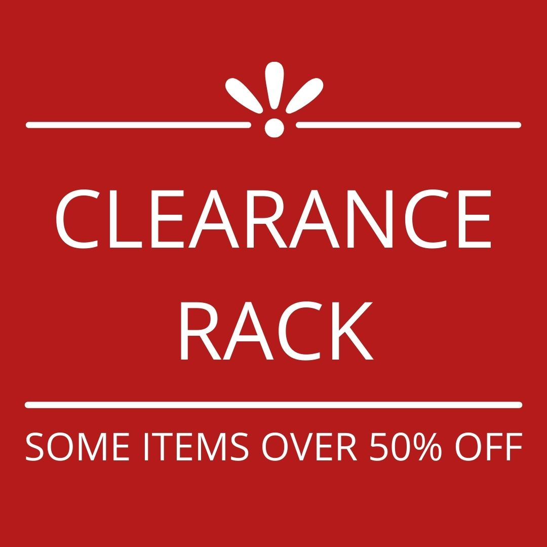 A Graphic of the Clearance Rack, one of the special offers at Stampin' Up!