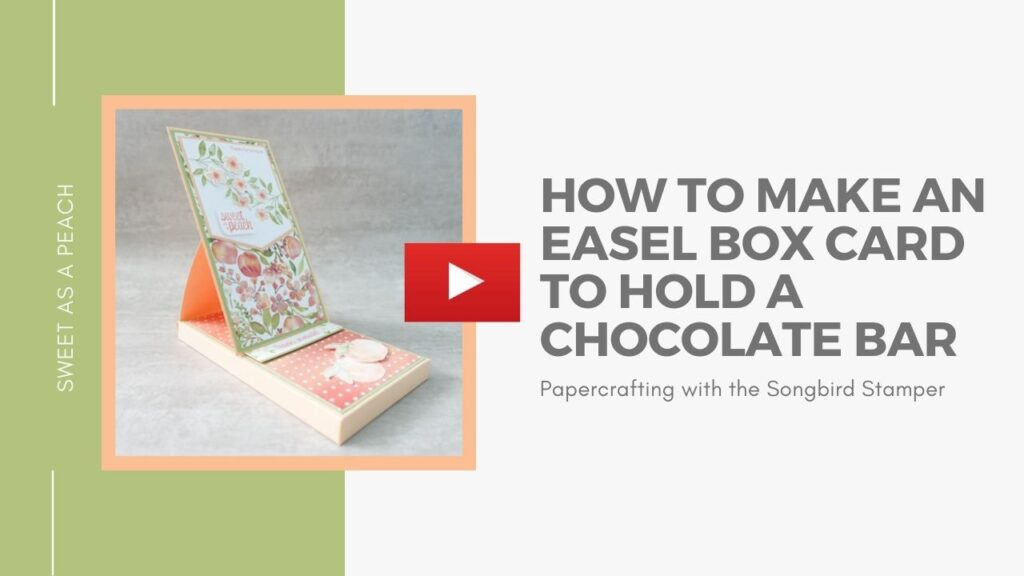 Link to a YouTube tutorial showing how to make an easel box card