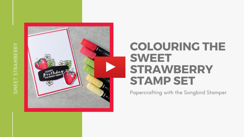 A YouTube thumbnail for my video demonstrating colouring using alcohol markers