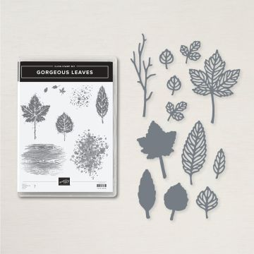 The new Gorgeous Leaves bundle from Stampin' Up!